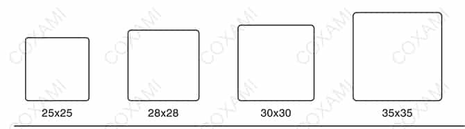 Square mold 1