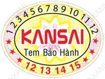 tem bảo hành kansai