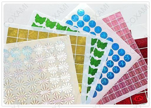 anti-counterfeiting stamps