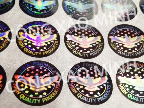 anti-counterfeiting nano-stamps