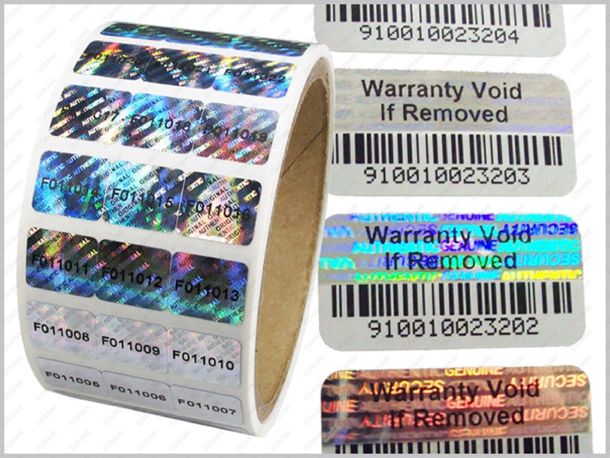 stamp hologram qrcode number jump barcode