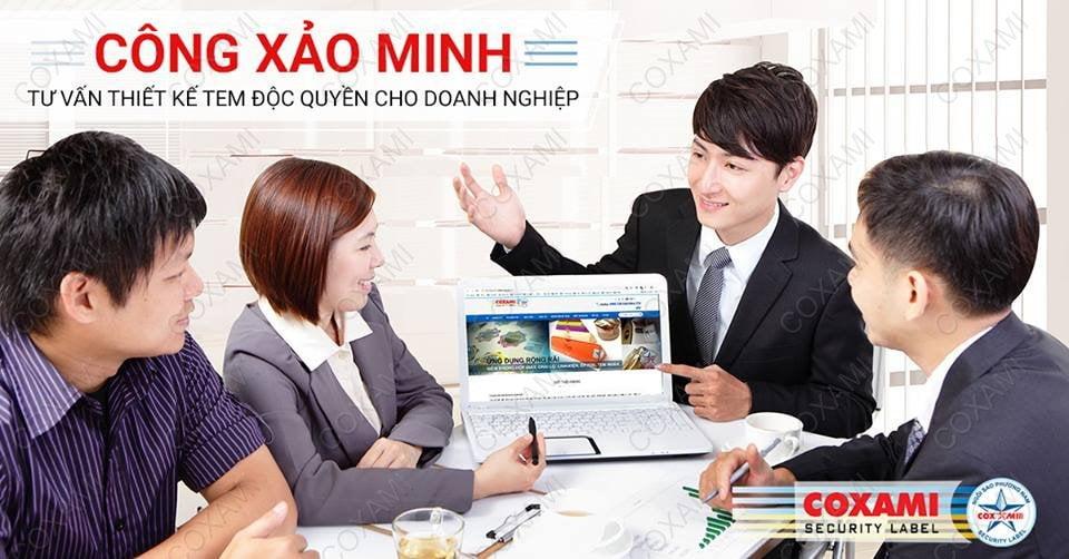 Tư vấn in tem chống hàng giả Công Xảo Minh