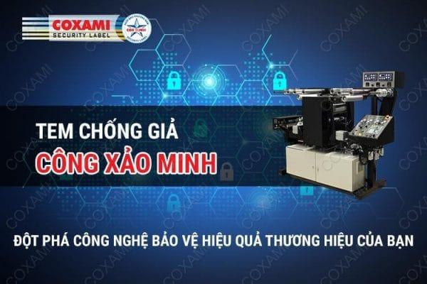 tem chống hàng giả Công Xảo Minh