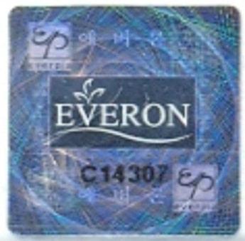tem chống giả everon